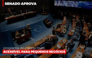 Senado Aprova Programa De Credito Mais Acessivel Para Pequenos Negocios - Notícias e Artigos Contábeis